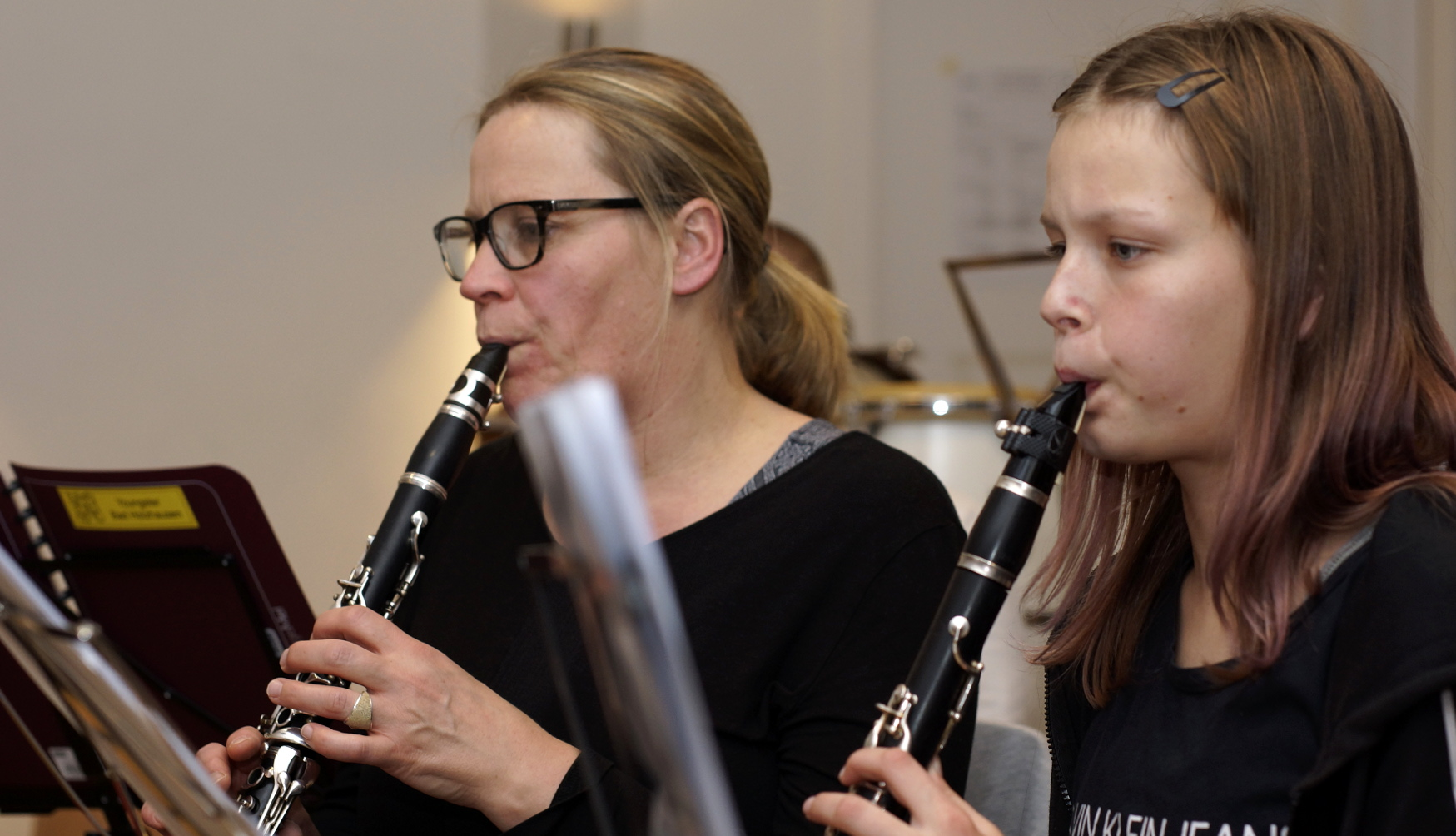 YoungsterBand Klarinetten